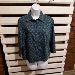 VALARIE STEVENS blouse.          #079